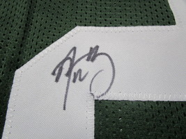 AARON RODGERS / AUTOGRAPHED GREEN BAY PACKERS CUSTOM FOOTBALL JERSEY / COA image 4