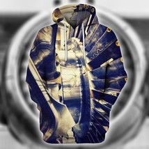 Air Craft Mechanic Copper 3D Hoodie All Over Print Pullover Sweatshirt - $42.99