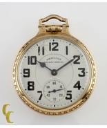 Hamilton Railway Special Gr 992B Open Face Gold Filled Pocket Watch 21 J... - $1,484.92