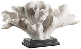 Uttermost Blade Coral Statue, Cream - $195.80