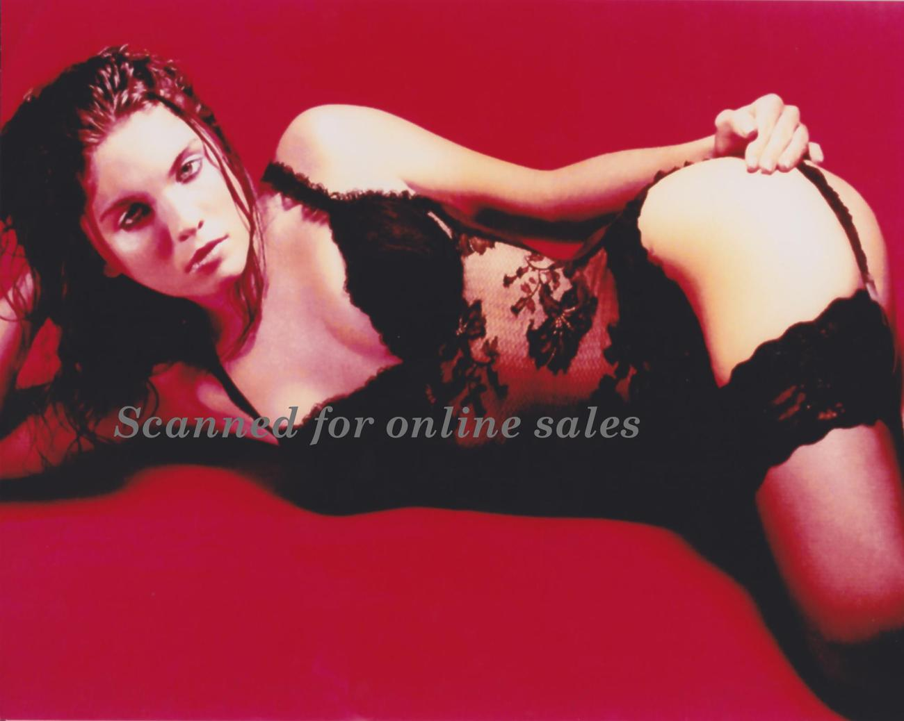 Charisma Carpenter Black Lace 8x10 Photo