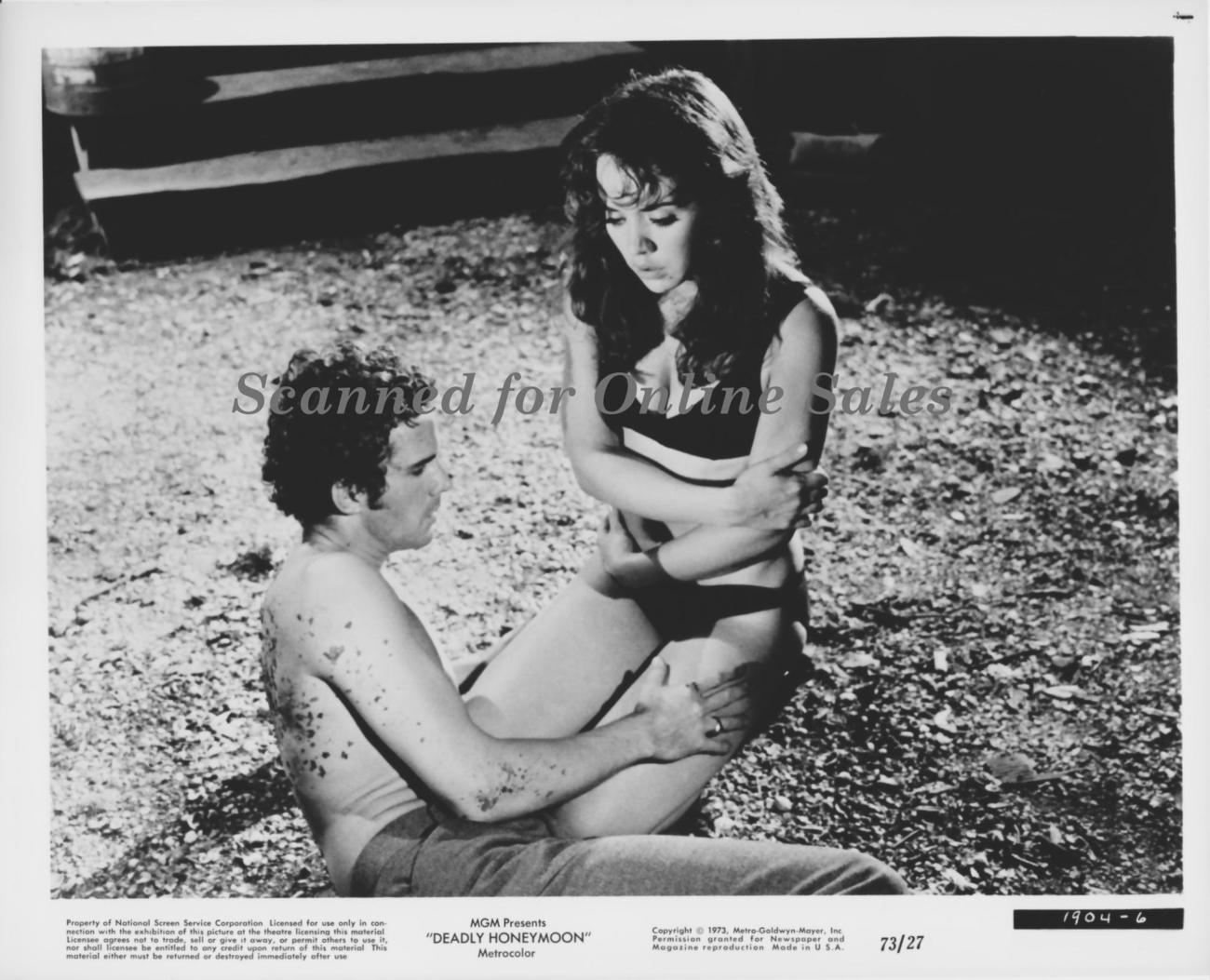 Deadly Honeymoon Rambo Smith on Beach 8x10 Photo
