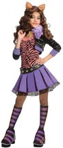 Medium Monster High Deluxe Clawdeen Wolf Costume Home Holiday Baby Kids ... - $67.22