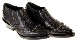 Ash Women's Studded Ankle Boots Booties Leather Motorcycle Black Sz 35 EU - $59.79