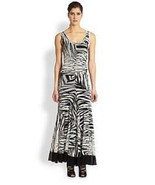 GORGEOUS NWT JEAN PAUL GAULTIER MESH RUCHED MAXI DRESS - $625.00