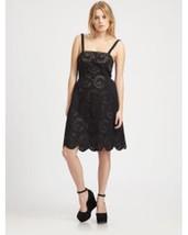 NWT Marc Jacobs Women's Eyelets Black Dress $458.00 Size 0 - $127.49