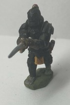 Vtg D&D Dungeons And Dragons Warrior Black Knight Paladin Hand Painted M... - $11.30