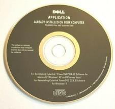 *New* Oem Dell Application Software Cd Disc P/N 5RMC0 Rev. A00 - $14.80