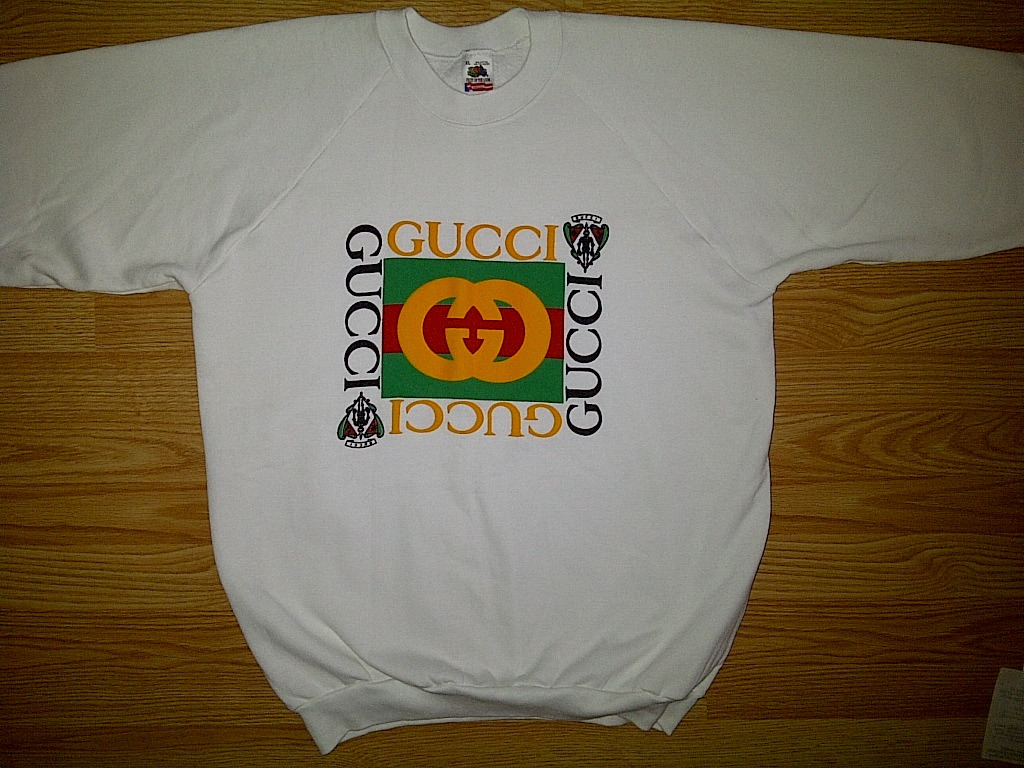 fruit of the loom gucci logo white and 50 similar items