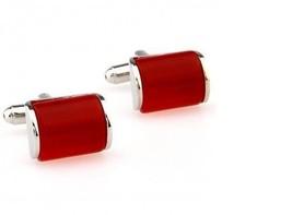 Frederick Thomas uni rouge verre manchettes style ft2821 - $24.38