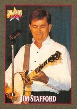 Primary image for Jim Stafford trading card (Country Music) 1992 Branson on Stage #61