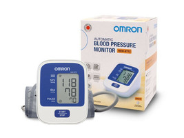 Omron Automatic Upper Arm Blood Pressure Monitor HEM-8712 (IN) BASIC FAS... - $51.93
