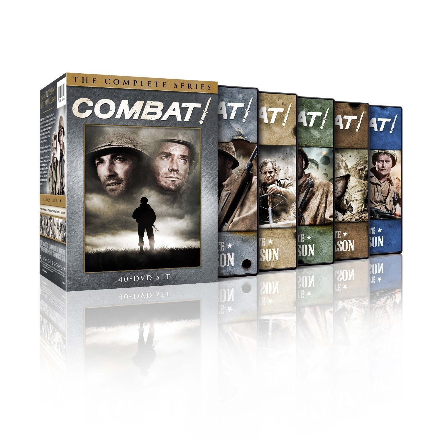 Combat! The Complete Series (DVD Set New) Classic TV Show