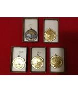 Vtg Grand Bahama Club Swimming 5 Medals AllStar Butterfly Back Stroke Re... - $50.00