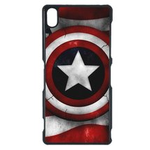 Avengers, Captain America Sony Z1 case Customized premium plastic phone ... - $11.87