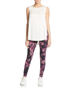NWT Womens Peony & Me Side Slit Tank Top Shirt L High Low Off White New ... - $31.20