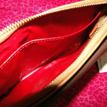 Dooney & Bourke Pebble Leather Front Pocket Wristlet NWT image 11