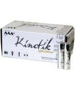 Kinetik 53313 AAA Alkaline Batteries, 50 pk - $30.56