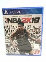 NBA 2K19 (Sony PS4, 2018) PlayStation 4 New Factory Sealed - $12.86