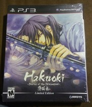 Hakuoki Stories of the Shinsengumi Limited Edition Playstation 3 PS3 Box... - $29.24