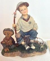 Yesterdays' Child Boyd Bear - Michael and Thayer - Waitin' for Grandpa #... - $43.96