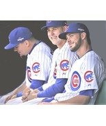 Chicago Cubs Murderers Row 2018 Schwarber Rizzo Bryant BRYZZO PhotoArt o... - $7.77+