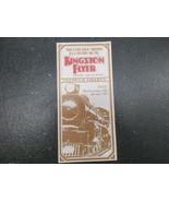 Kingston Flyer vintage steam train timetable 12/18/1982-4/4/1083 - $18.57