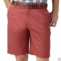 Dockers Flat-Front Solid Shorts New 30, 38 MSRP $50.00 - $16.99