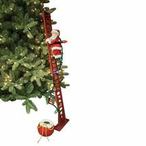 Mr. Christmas Super Climbing Santa Holiday Decor, Red - $114.06