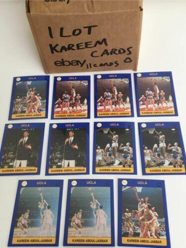 Vintage Lot 11 Kareem Abdul Jabbar UCLA Trading Cards College Basketball NCAA