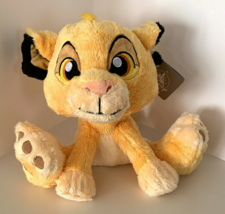 Disney Parks Lion King Simba 10 inch Big Feet Plush Doll NEW - $31.90