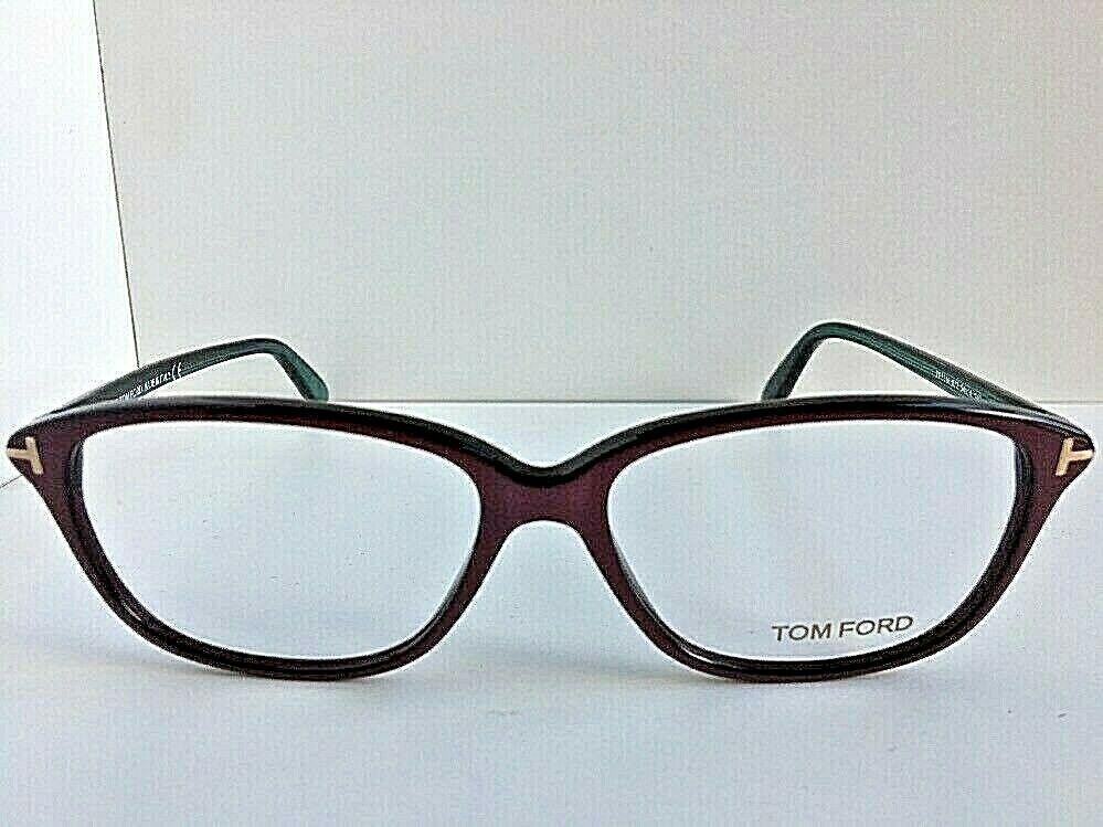 New Tom Ford TF 1653  720 54mm Burgundy Women's Eyeglasses Frame Italy