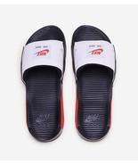 Nike Men's Air Max 90 Slides NEW AUTHENTIC Black/Red/White BQ4635-003 SZ:8 - $75.00