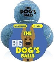 The Dog's Balls 3 Premium Dog Toy Ball For Dog Fetch And Play, Too Big For It - $24.04
