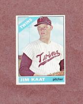 1966 Topps # 445 Jim Kaat Minnesota Twins Nice Card - $3.99