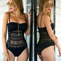 Fashion Womens One-piece Swimsuit Swimwear Push Up Monokini Bathing Suit Bikini image 5