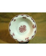 """Sterling China For York Kitchen Red Floral Soup Cereal Bowl 6 3/8"""" - $3.14"""