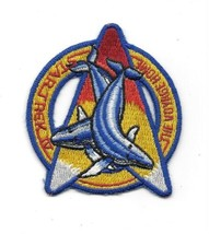 Star Trek IV: The Voyage Home Whales Over Command Logo Embroidered Patch... - $7.84