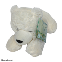 Fiesta Laying Polar Bear White Zoo Animal Artic Plush Stuffed Animal 201... - $33.66