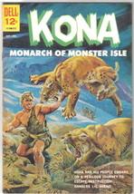 Kona Monarch of Monster Isle Comic Book #4 Dell Comics 1962 VERY FINE- - $28.94