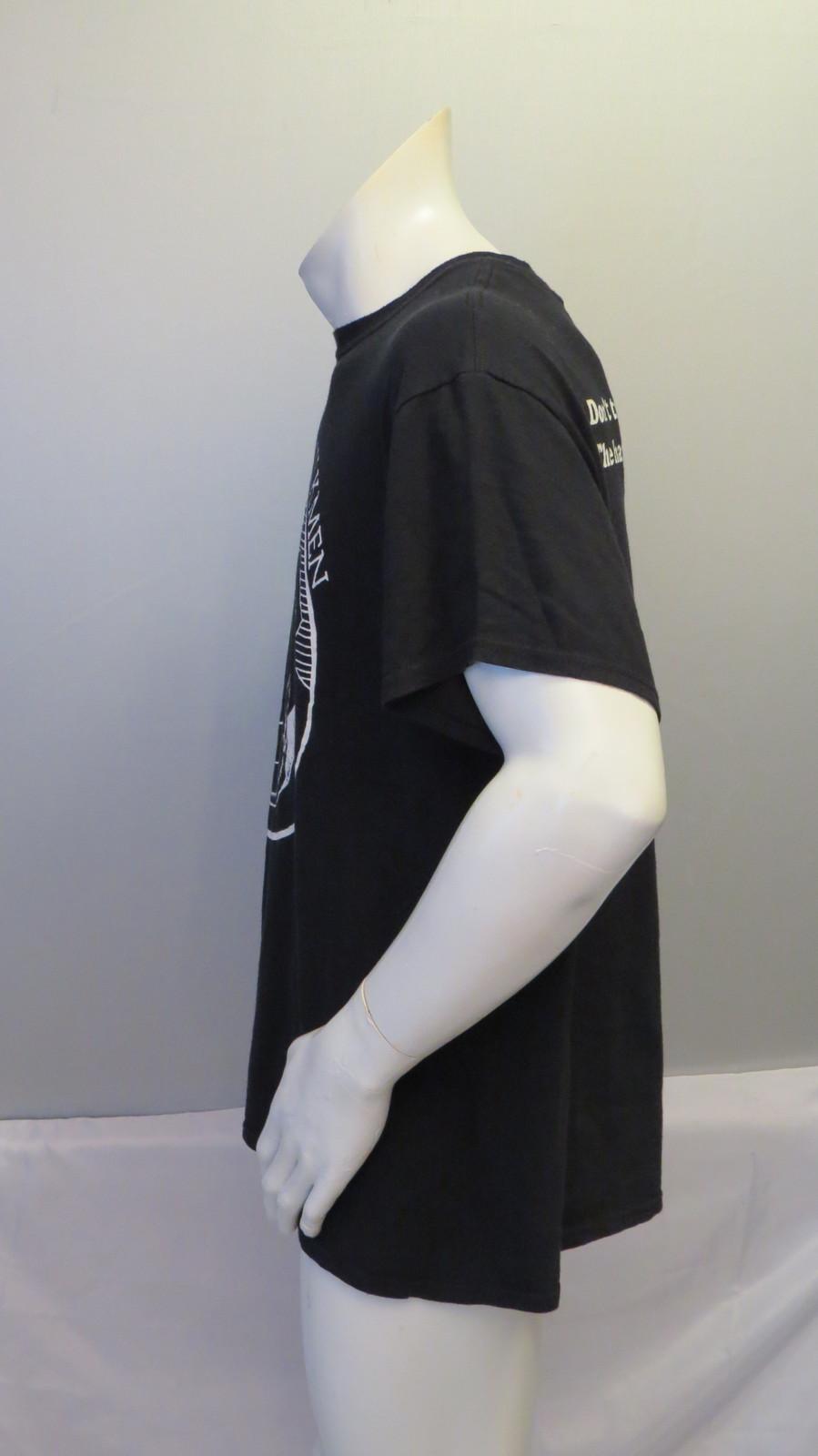 Dead Milkmen Shirt (Retro) - Don't Trust Happy People - Men's Large