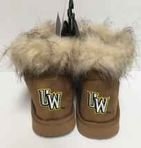 Wyoming University Boots Bucking Horse & Rider UW Logo Women's Many Sizes image 3