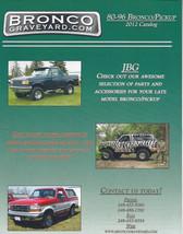 Bronco Graveyard.com CATALOG 188 PAGES - $4.99
