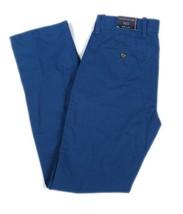 NWT Tommy Hilfiger Men's Pant Regular Rise Straight Leg Zip W28 - L32 Blue - $42.99