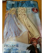 2x TWO new Disney Princess Color Your Own Wooden Standee, FROZEN 2 ELSA - $12.74