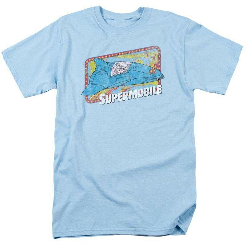 Superman Supermobile DC Comics Super Friends JLA graphic t-shirt DCO632