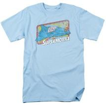 Superman Supermobile DC Comics Super Friends JLA graphic t-shirt DCO632 image 1