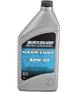 NEW Mercury Quicksilver 858058Q01 Premium Gear Lube 80W-90 - Quart Bottl... - £8.51 GBP