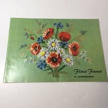 Flora Fauna Cross Stitch Pattern Book S. Lawergren - $9.74