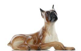 Hagen Renaker Pedigree Dog Boxer Ceramic Figurine image 7